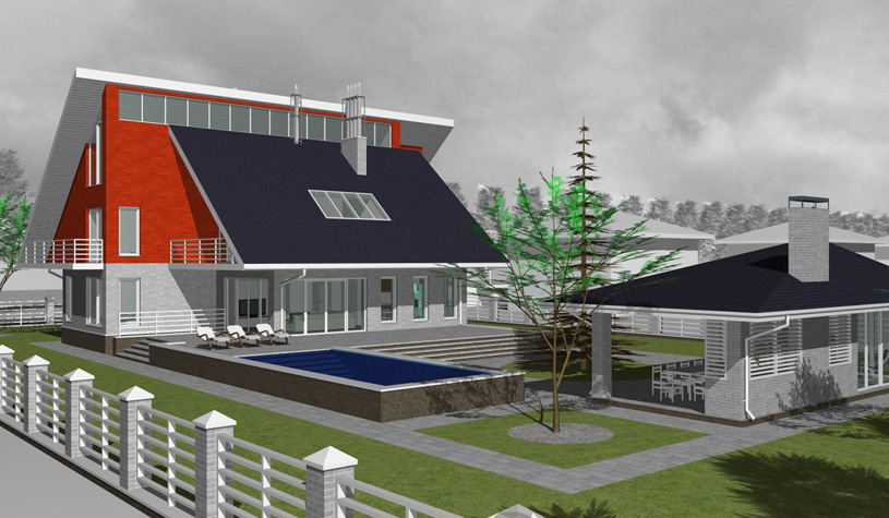 Как выбрать проект загородного дома