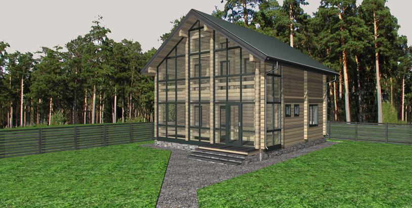 Как выбрать проект деревянного дома