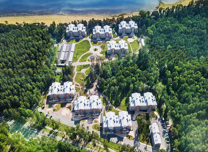 Комфортные апартаменты с видом на Финский залив