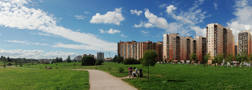 ЖК «Новый Оккервиль» в Санкт-Петербурге