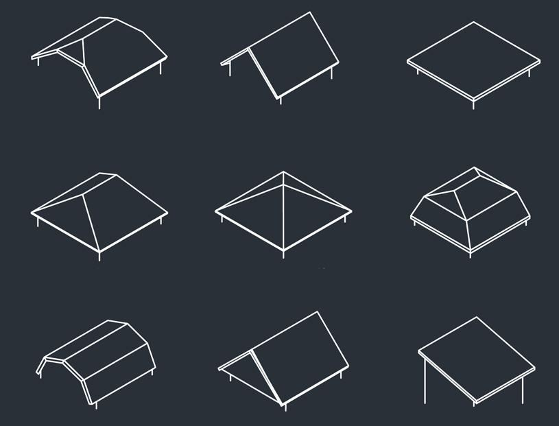 Крыши – основные типы и их характеристики
