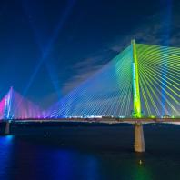 Мост Квинсферри-кроссинг. Шотландия