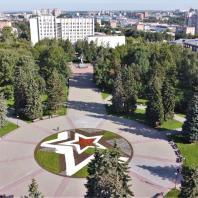 «Сквер Победы» в Ижевске. Фото 2020 г. Источник: commons.wikimedia.org
