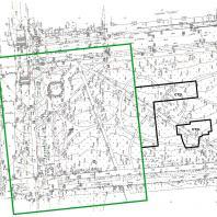 Топографическая съёмка конкурсной территории. Конкурс благоустройства территории, прилегающей к «МФК «Ривьера». ЖК №1» в Ижевске