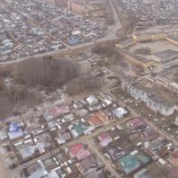 Фото территории парка «Тарханово» с дрона. 2019
