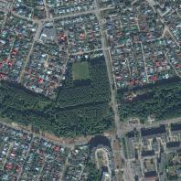 Спутниковый снимок территории парка «Тарханово». ЯндексКарты